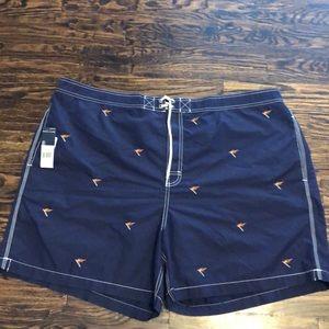 Polo Ralph Lauren big and tall swim trunks 2XB NWT